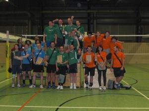 Siegerehrung Volleypap 2014