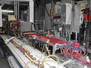 Versuchspapiermaschine der Hochschule für angewandte Wissenschaften München